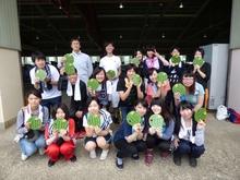 健康栄養学科が越前市しらやま西瓜収穫祭に参加しました。