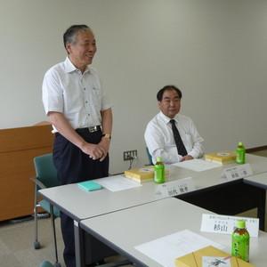 学友会と学長の懇談会