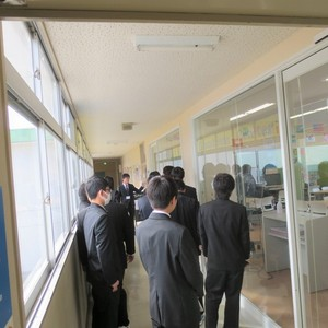 武生高校定時制の皆さまが見学に来ました!