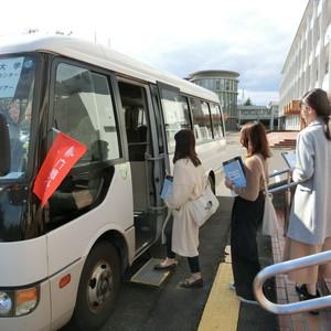 大好評「職場見学バスツアー」【第3弾】! 株式会社アイジーエーを訪問