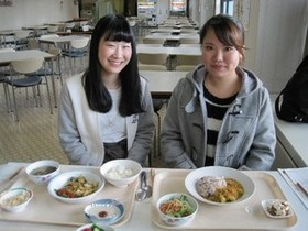 県庁食堂にて仁愛大学ランチが始まります!