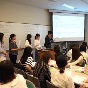 栄養教育論実習で「青年期のニーズアセスメント報告会」を行いました。