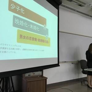 2017年度コミュニケーション学科卒業研究発表会が行われました。