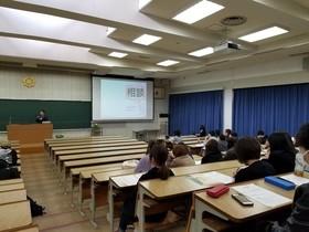 コミュニケーション学科招待講義を開催しました