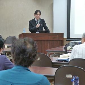 公開講座「夏の食中毒とその予防対策」を開催しました