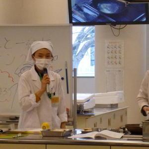 公開講座「子どもの食育講座 お父さんとクッキング -魚をさばいてムニエルを作ろう-」を開催しました