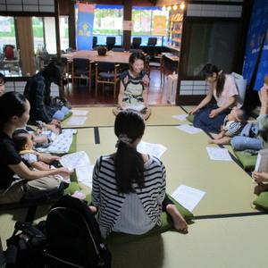 公開講座「離乳食教室 はじめての離乳食(5~6ヶ月児) 」を開催しました