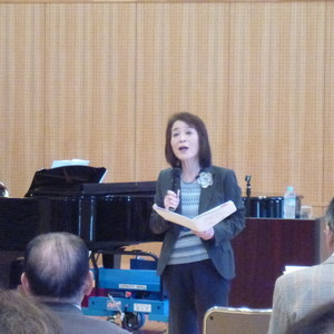 公開講座「唱歌の四季」を開催しました