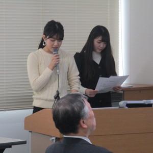 仁愛大学地域貢献活動補助金事業報告会を開催しました