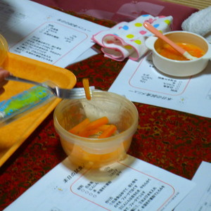 公開講座「離乳食教室 離乳食のすすめ方(7~8ヶ月児) 」を開催しました