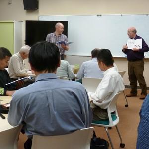 公開講座「やさしい英会話」を開催しました。