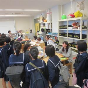 鯖江高校の皆さまが見学に来ました!