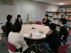 「先輩教員と語る会」が開催されました!