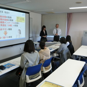 「富山県企業ミニ学内合同研究会」開催