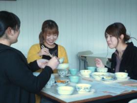 県庁食堂にて仁愛大学ランチが始まります