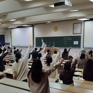 「管理栄養士」国家試験壮行会を実施しました。