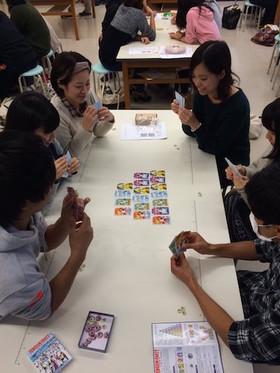 子ども文化講座「子どもの話をきくきっかけにこんなゲームはいかが?」
