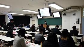 コミュニケーション学科の卒業研究発表会が行われました。