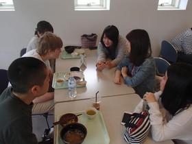 異文化ランチ@学生食堂!