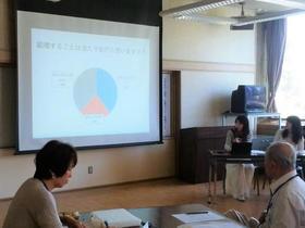「大学生の結婚観」について調査・分析。学外のワークショップでも報告しました。