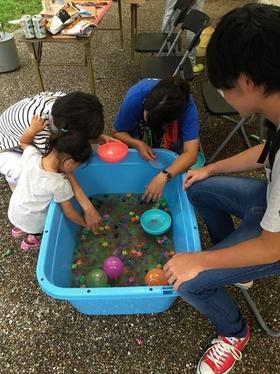 早川ゼミ、あわら湯かけまつりで企画を行いました!