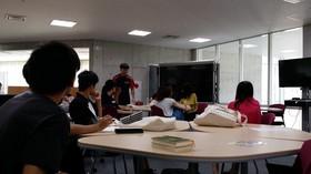 「フィールドワーク演習(ボランティア)」、武生中央公園でのイベントに向けて追い込み中!