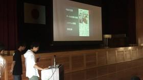 【SDGs】万葉中学校でサイバー犯罪抑制に向けた講演をしました!