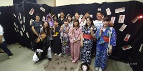 万葉恋歌ライブの「お化け屋敷」に参加しました!