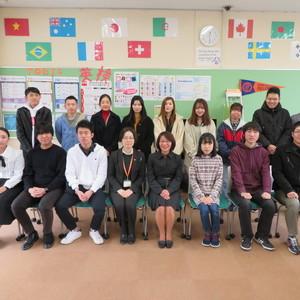 語学検定受験支援 表彰式を行いました。