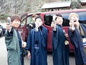 「きものっこ」と合同で和服イベントを開催しました