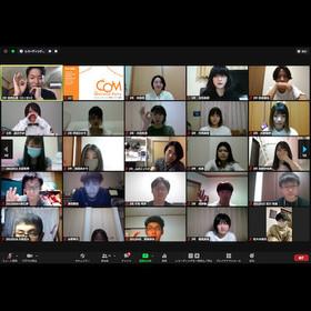 コミュニケーション学科のオンライン新歓が開催されました