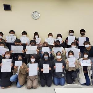 グラフィックレコード講座 in コミュニケーション学科!