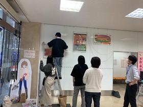 鯖江市役所で丹南ともみちゃんの活動を展示!