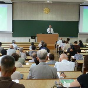 公開講座「ひと・ほとけ・いのち」を開催しました