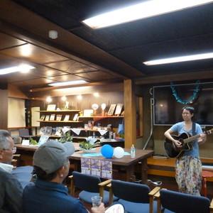 ムーンライトカフェ「音楽ライブ」を行いました