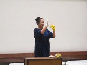 公開講座「心を育むわらべうたあそび」を開催しました