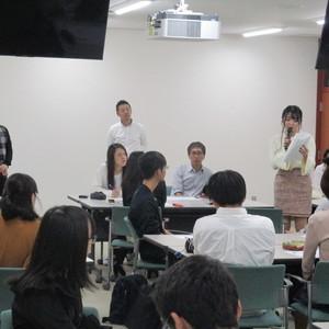大正大学学生とのワークショップ開催